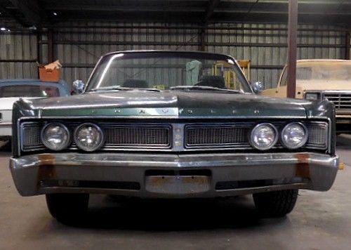1967 Chrysler Newport 2 Door Convertible    No Reserve