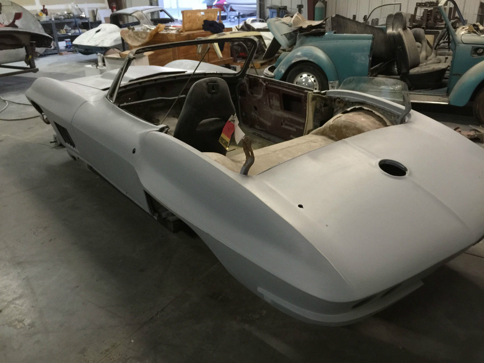 Corvette Pro Touring Project C Body on c4 corvette quarter panels