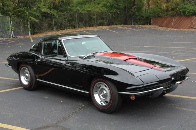 1967 Corvette Black 427 435 Hp For Sale Autos Post