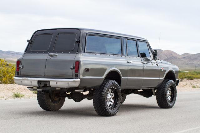 6 Door Chevy Truck For Sale >> 1967 Custom Chevy Suburban 3 Door - Classic Chevrolet Suburban 1967 for sale