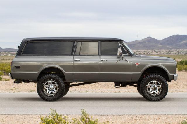 Lifted Suburban For Sale >> 1967 Custom Chevy Suburban 3 Door - Classic Chevrolet ...