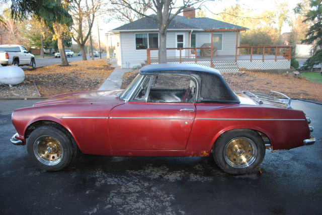 1967 Datsun 1600 Roadster parts car - Classic Datsun Other