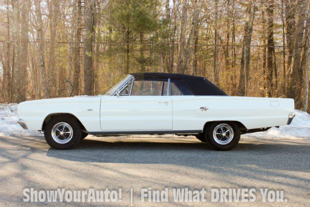 1967 Dodge Coronet R T Convertible 426 Hemi Only Auto Sold