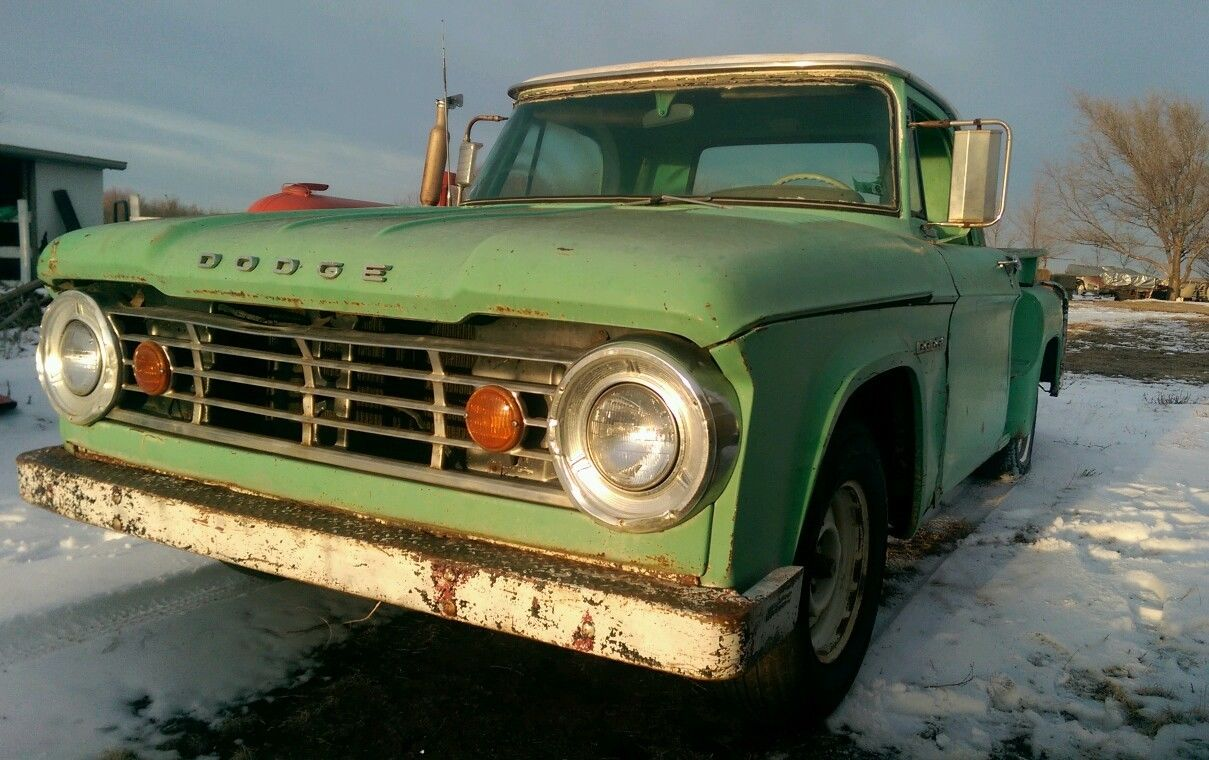 1967 Dodge D 100 1 2 Ton Pickup Shop Truck Patina Project Short Bed 1949 D100 For Sale Swb 318 V8