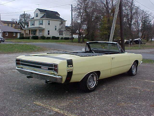 Cars For Sale In Indianapolis >> 1967 DODGE DART GT CONVERTIBLE 340 - Classic Dodge Dart 1967 for sale