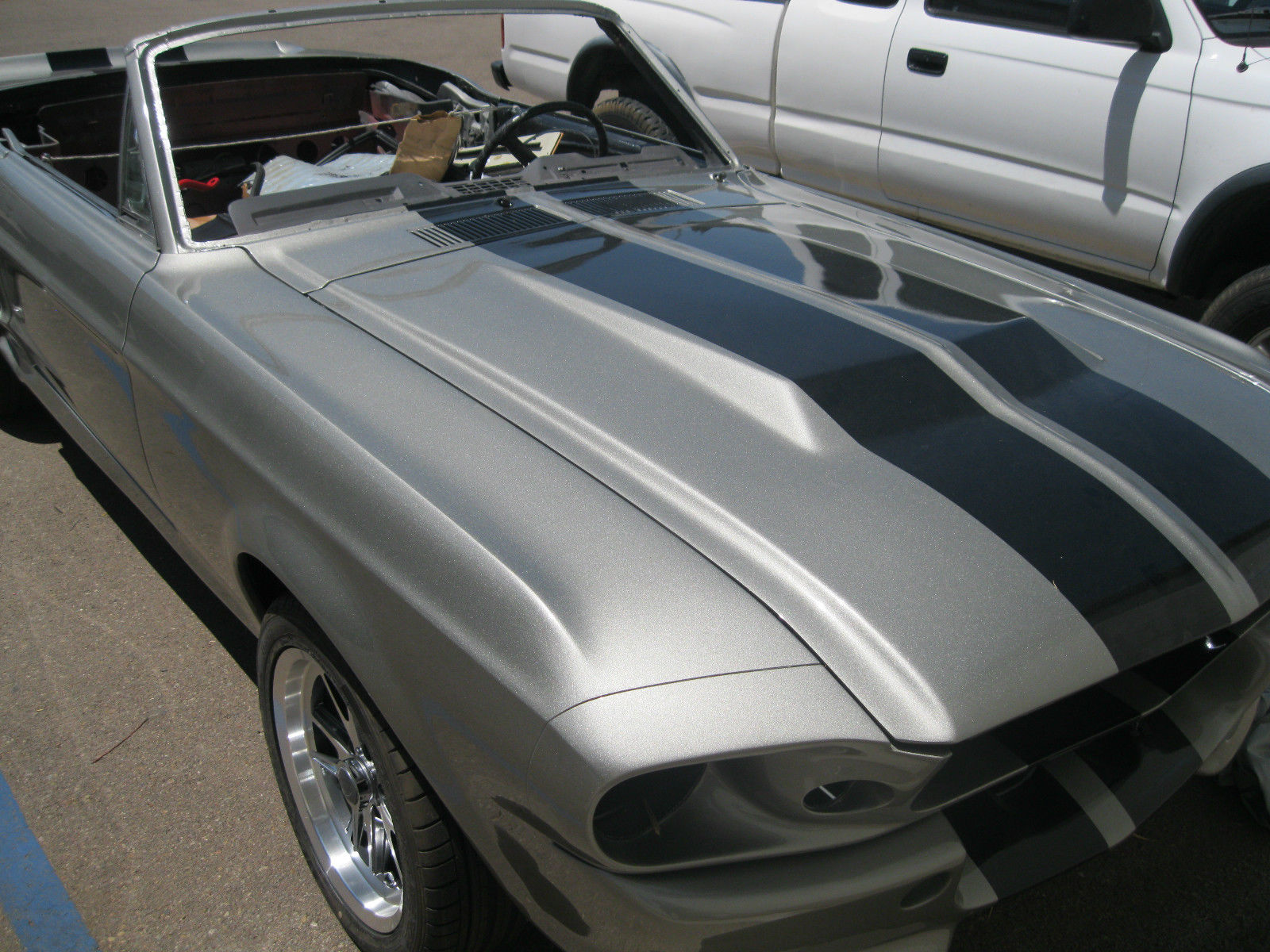 1967 eleanor mustang project car classic ford mustang 1967 for sale. Black Bedroom Furniture Sets. Home Design Ideas