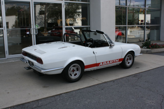 1967 fiat abarth ot1000 spider classic fiat other 1967 for sale. Black Bedroom Furniture Sets. Home Design Ideas