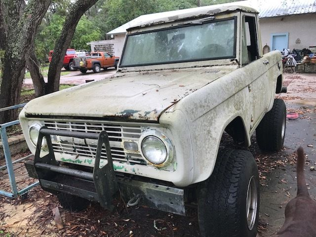 1967 ford bronco project truck classic ford bronco 1967 for sale. Black Bedroom Furniture Sets. Home Design Ideas