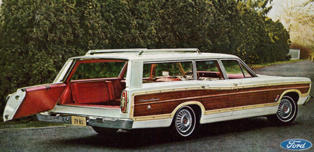 1967 ford country squire station wagon 100 complete woody. Black Bedroom Furniture Sets. Home Design Ideas