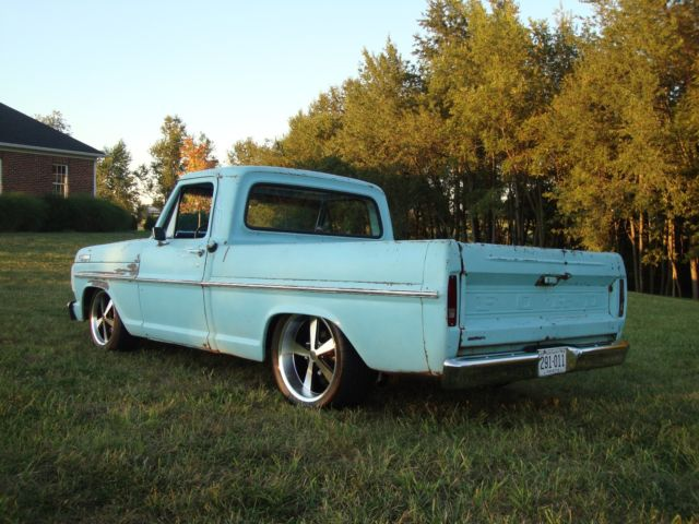 1967 Ford F-100 Pickup Patina Crown Vic Suspension 4 6 2-Valve