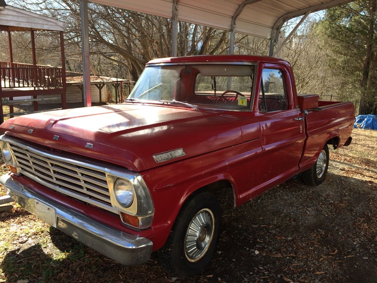1967 ford f 100 pickup truck classic ford f 100 1967 for sale. Black Bedroom Furniture Sets. Home Design Ideas