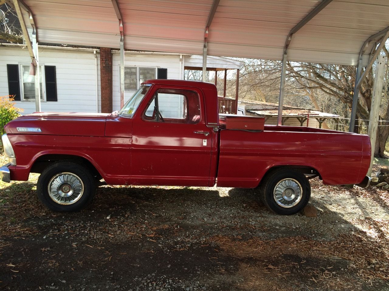 Used Cars Winston Salem >> 1967 Ford F-100 Pickup Truck - Classic Ford F-100 1967 for sale