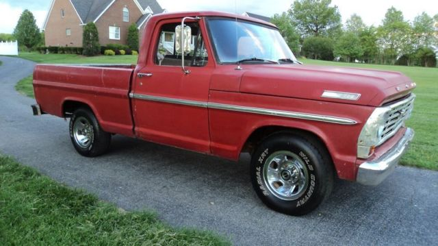 Ford F Short Wide Bed Swb Shop Truck Pics on ford ranger fuel pump