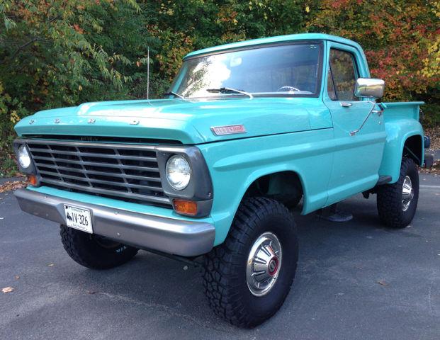 Nv4500 For Sale >> 1967 Ford F100 Stepside 4x4 CLEAN CALIFORNIA TRUCK ...
