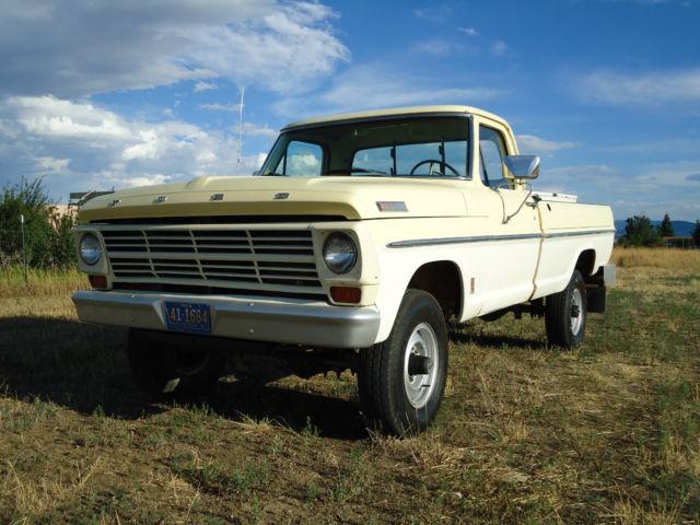 1967 Ford F250 4x4 Highboy high desert western survivor ...