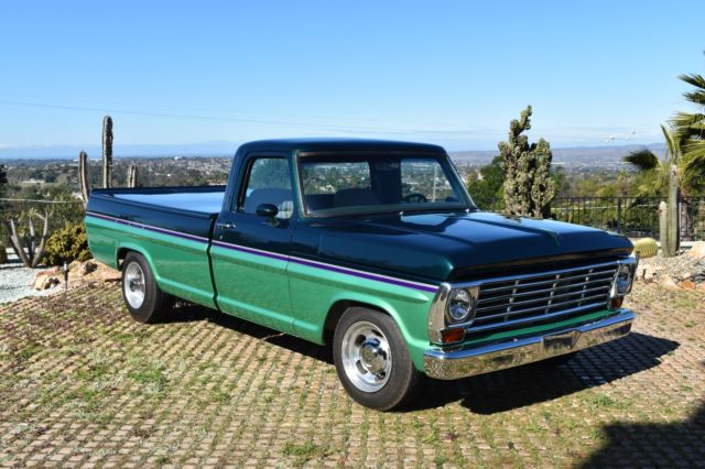 1967 ford f250 pickup truck vintage custom build show vehicle one owner since 67 classic ford. Black Bedroom Furniture Sets. Home Design Ideas