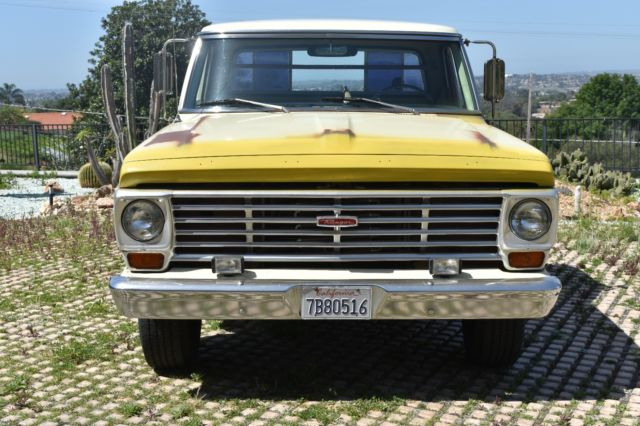 Ford Ranger 2 3 L Engine For Sale >> 1967 Ford F250 Ranger Pickup Truck, begs for paint job ...