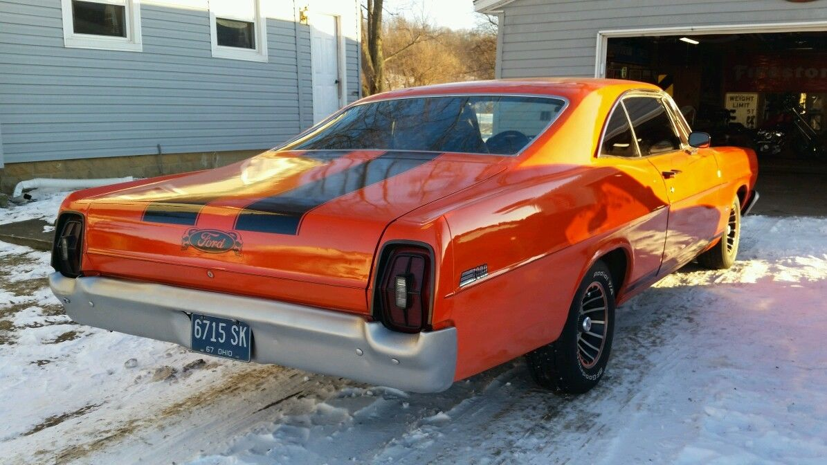 Ford Galaxie Fastback Numbers Matching Big Block Daily Driver on Ford Engine Block Numbers Location