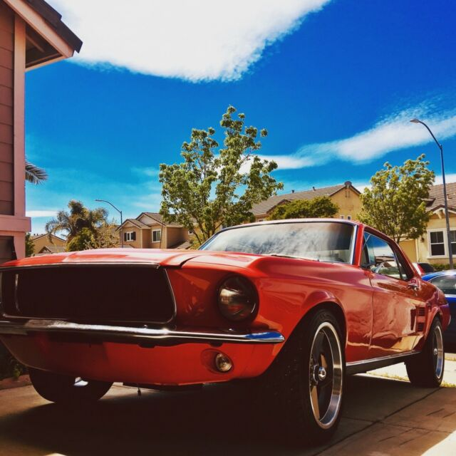 Ford Mustang 1967 For Sale: 1967 Ford Mustang Coupe 289 Automatic Classic Red
