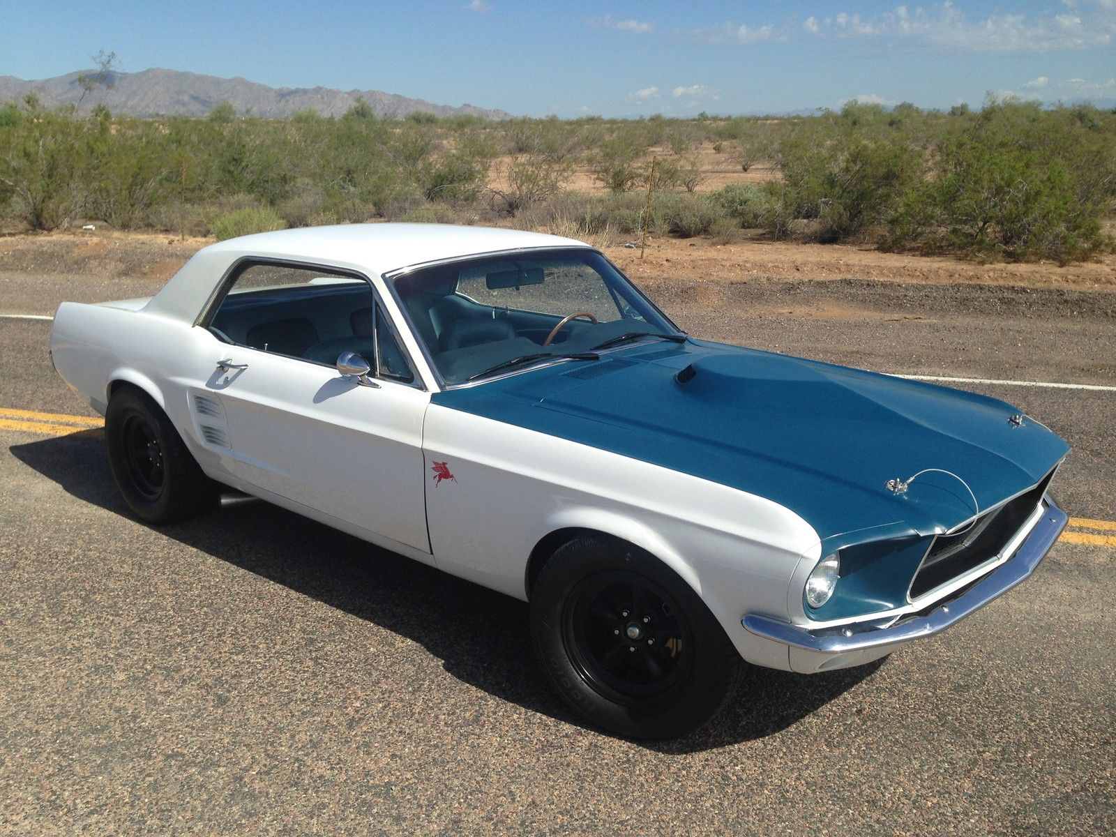 1967 ford mustang coupe gt interior road race suspension
