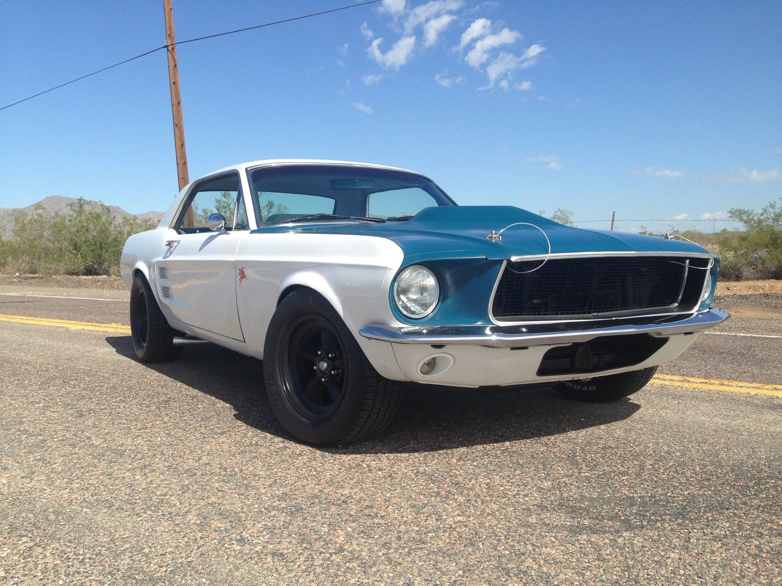 1967 ford mustang coupe gt interior road race suspension built 351 windsor a c classic ford. Black Bedroom Furniture Sets. Home Design Ideas