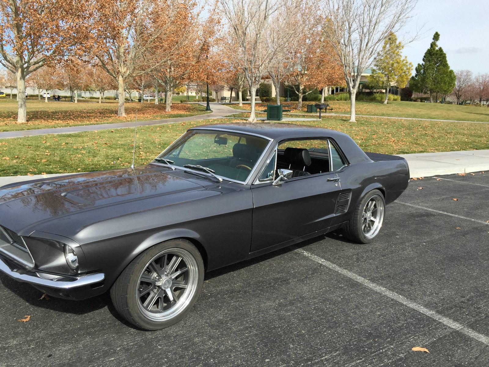 1967 ford mustang coupe restomod w hi pro 289 rack. Black Bedroom Furniture Sets. Home Design Ideas