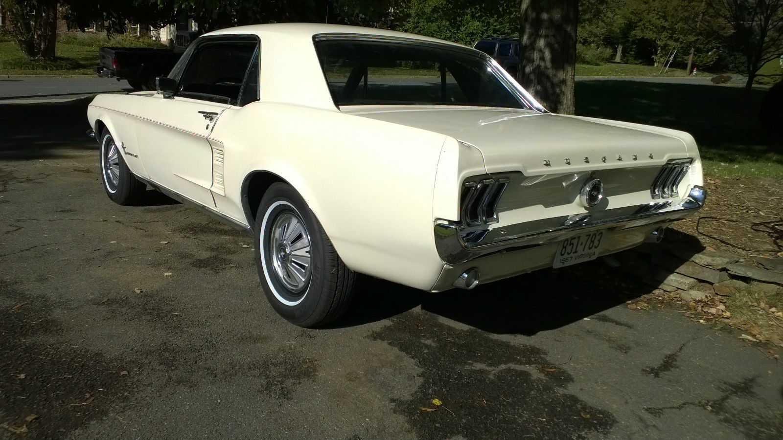 1967 ford mustang coupe very good condition 6 cylinder manual driven weekly
