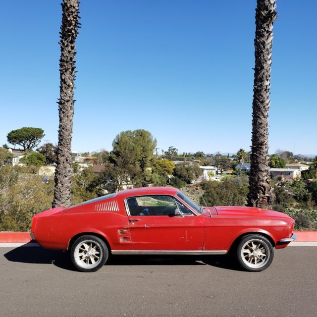 Ford Mustang 1967 For Sale: 1967 Ford Mustang Fastback 302 V8 T5 5 Speed California