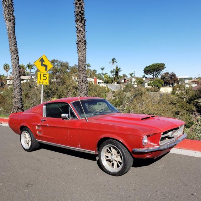 1967 Ford Mustang Fastback 302 V8 T5 5 Speed California