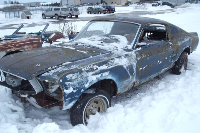 1967 Ford Mustang Fastback project car, Build Eleanor or Shelby clone, 1968 - Classic Ford