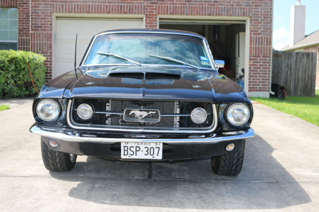 1967 Ford Mustang Gt Custom Shelby Clone Coupe