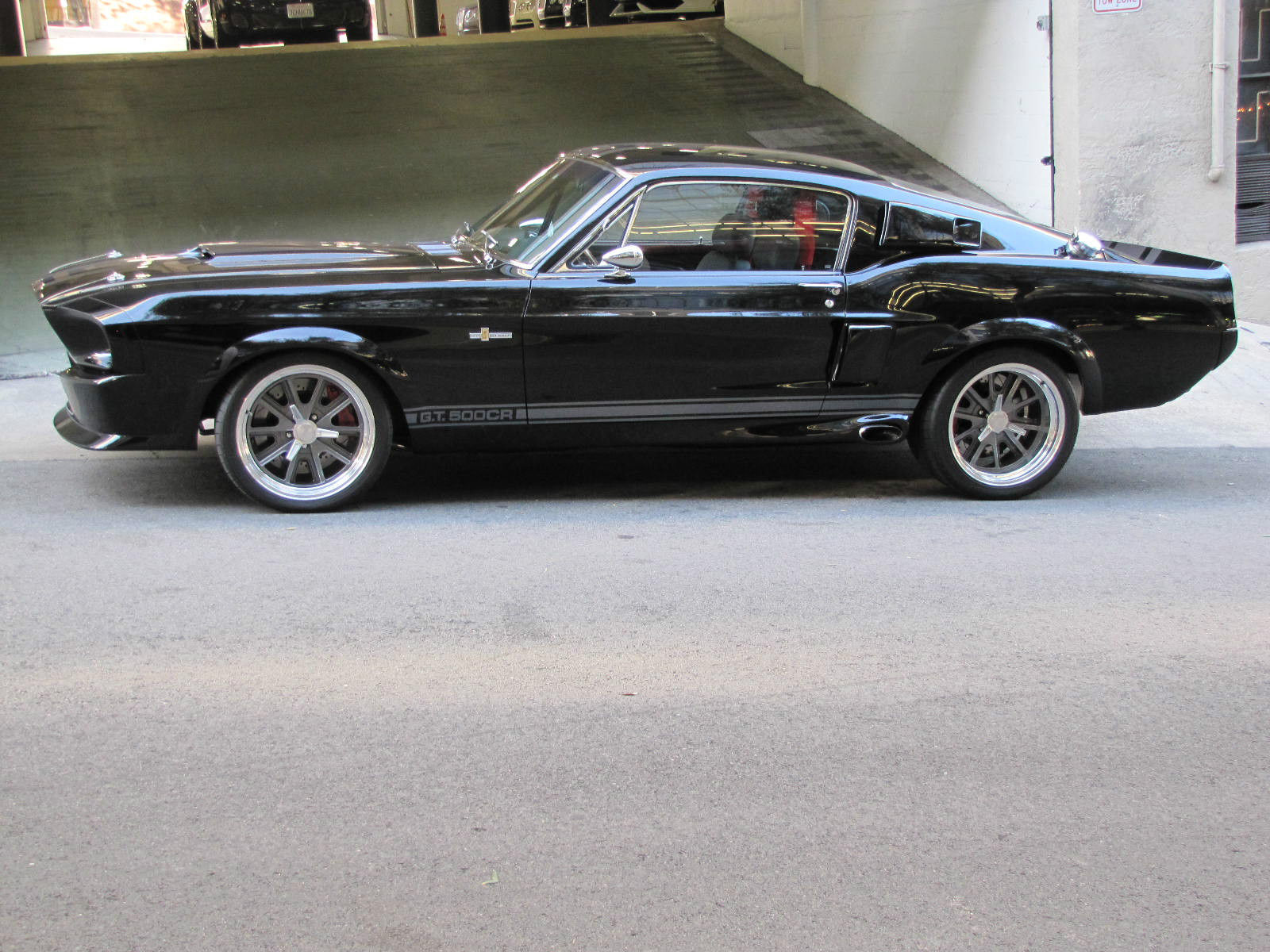 1967 ford mustang shelby gt 500 black low miles classic ford mustang 1967 for sale. Black Bedroom Furniture Sets. Home Design Ideas