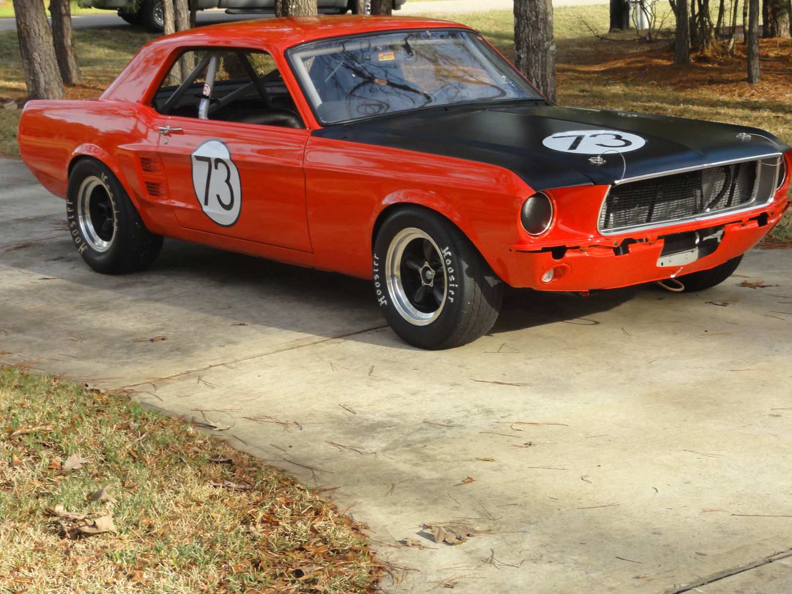 1967 ford mustang vintage race car svra cvar rmvr road race open track etc - Ford mustang vintage ...