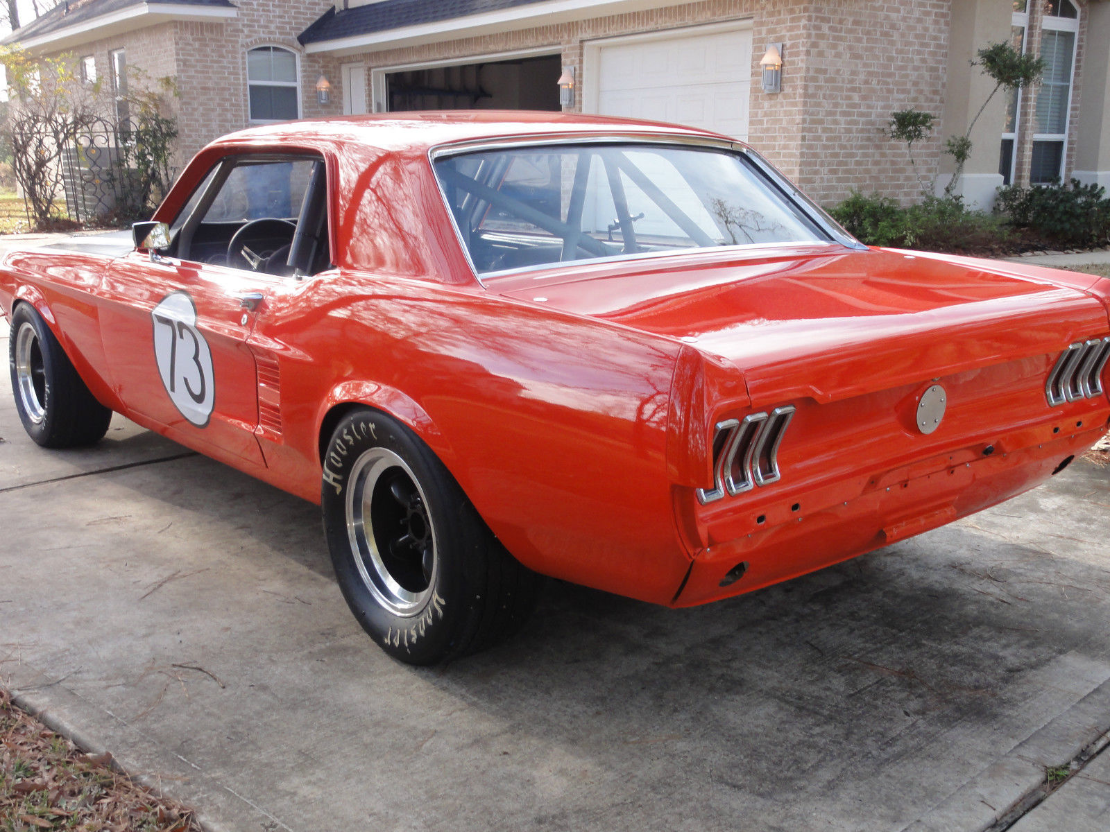 1967 ford mustang vintage race car  svra cvar  rmvr road