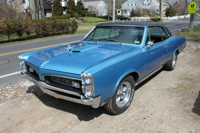1967 Ho Gto Certified Numbers Matching Highly Optioned