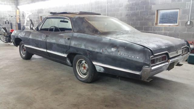 1967 impala 4 door hardtop classic chevrolet impala 1967 for sale. Black Bedroom Furniture Sets. Home Design Ideas