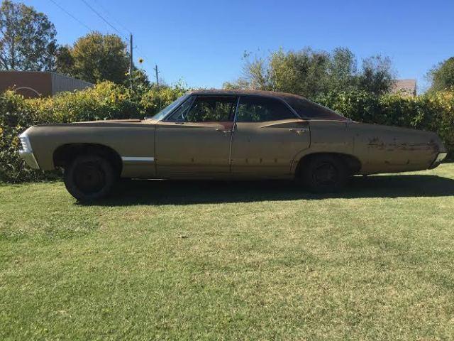 1967 impala 4 door hardtop supernatural project clear title no reserve classic chevrolet. Black Bedroom Furniture Sets. Home Design Ideas