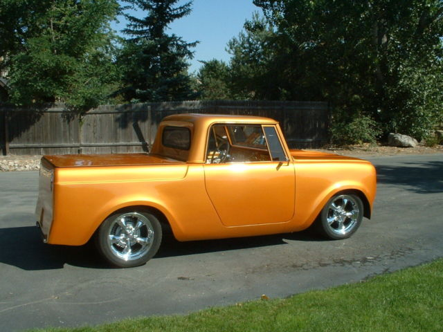 International Scout Street Rod Hot Rod on Chevy S10 4 Cylinder Engine