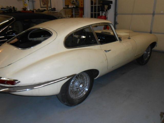 1967 Jaguar E Type BLACK