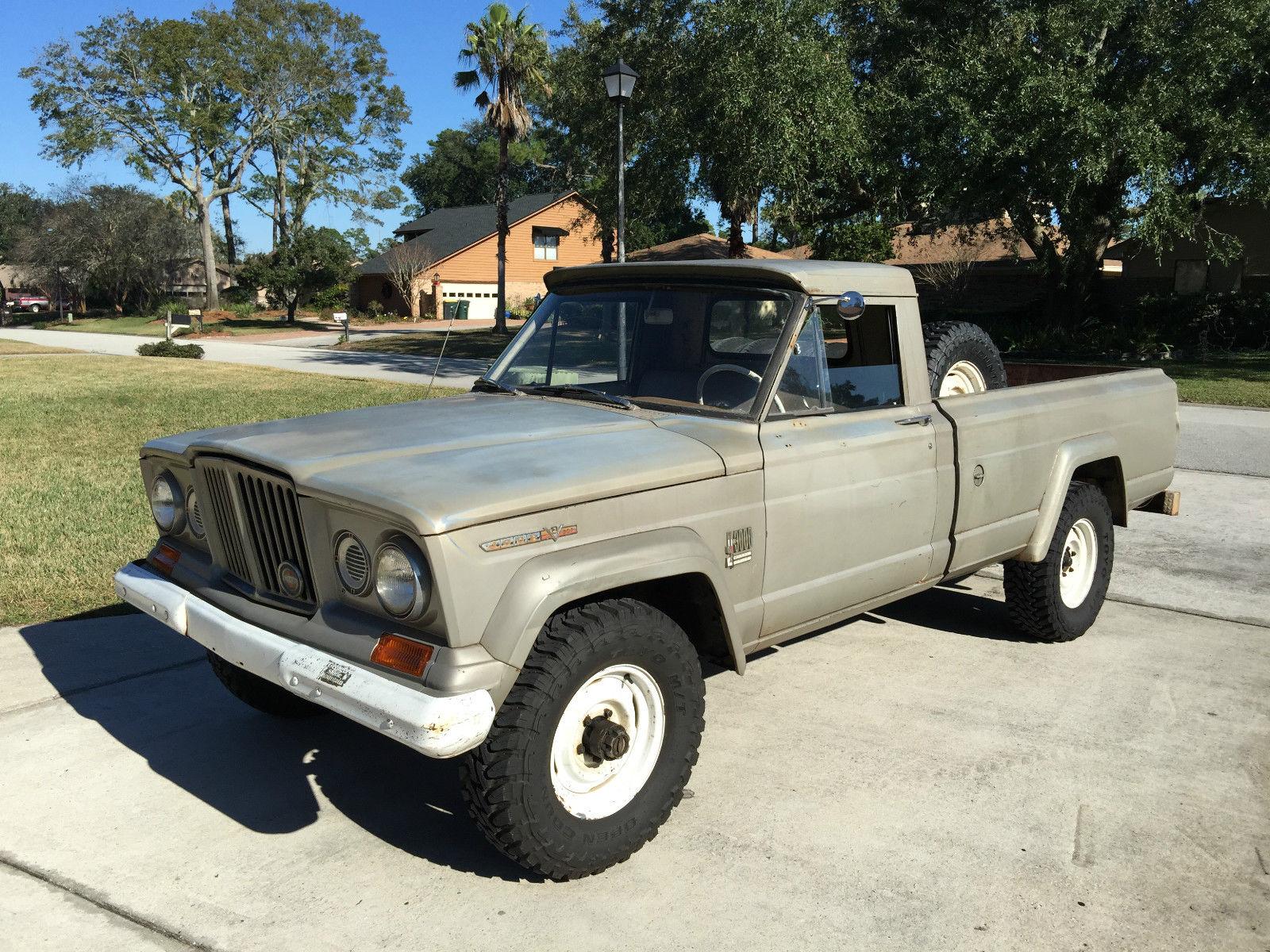 1967 Jeep Gladiator J10 J3000 Pickup Truck Barn Find