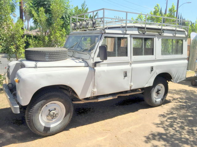 1967 land rover series 2a station wagon 109 v8 classic land rover series 2a station wagon 109. Black Bedroom Furniture Sets. Home Design Ideas