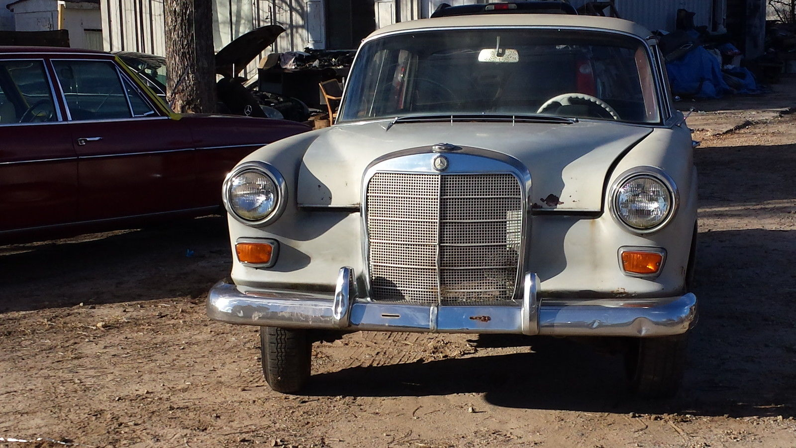 1967 mercedes benz 190c series project car a good car