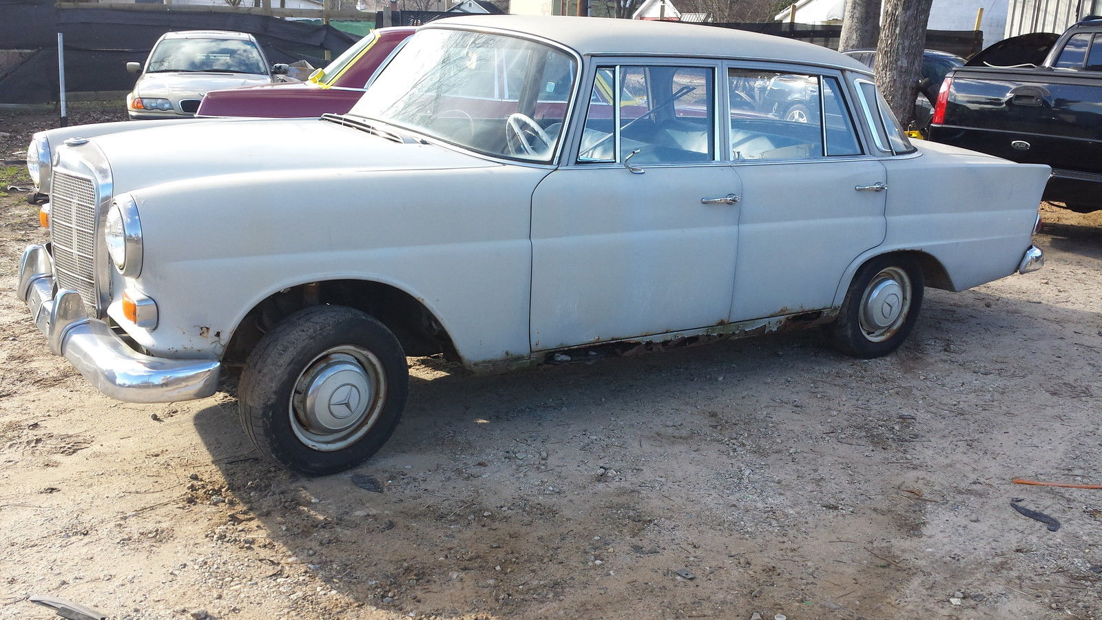 1967 mercedes benz 190c series project car a good car for Spares for mercedes benz