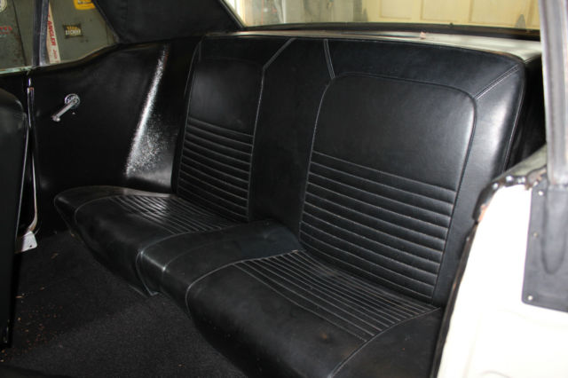 1967 mustang coupe white black vinyl top black interior auto 289ci classic ford mustang. Black Bedroom Furniture Sets. Home Design Ideas