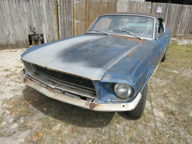 1967 mustang fastback 7t02a204493 project car eleanor bulitt classic ford mustang 1967 for sale. Black Bedroom Furniture Sets. Home Design Ideas