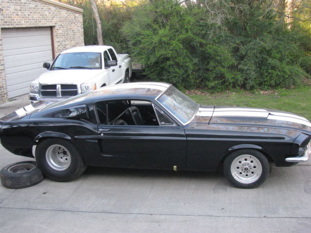 1967 mustang fastback drag car nr classic ford mustang 1967 for sale. Black Bedroom Furniture Sets. Home Design Ideas
