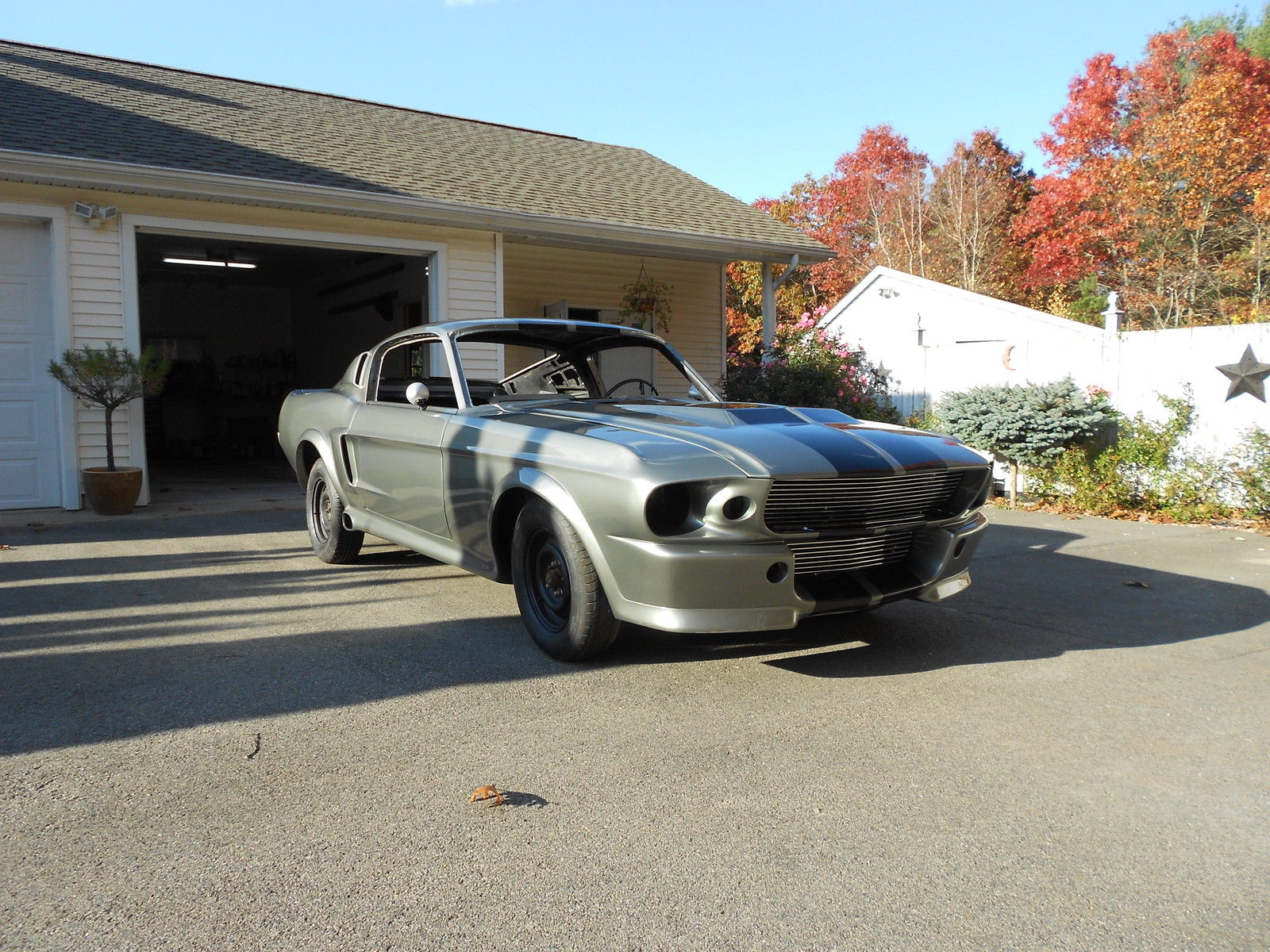 1967 Mustang Fastback Shelby Eleanor 1967-1968 GT500 ...