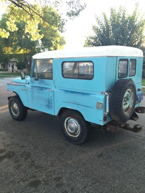 San Bernardino Nissan >> 1967 Nissan/Datsun Patrol Type-L60 4x4~HardtopConv ...