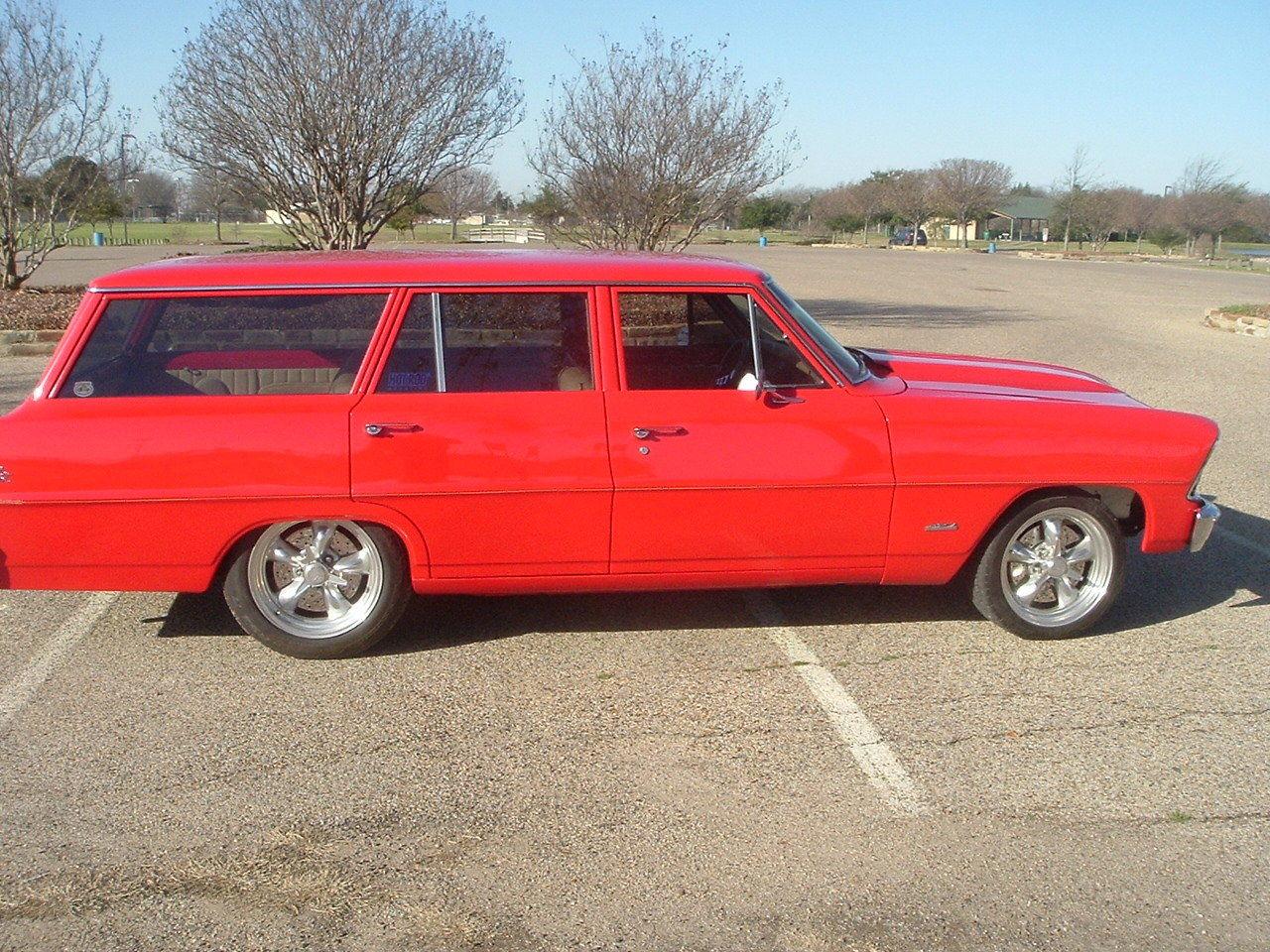 1967 Nova Resto Mod Wagon Nice