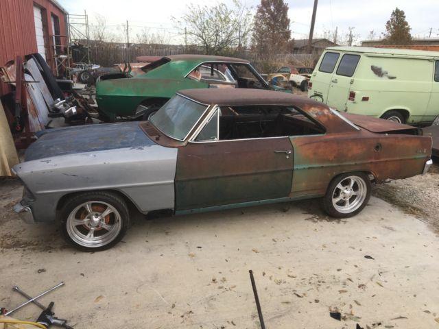1967 Nova- Solid Texas Project Car - Classic Chevrolet Nova